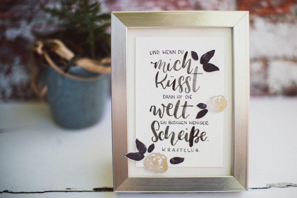 Gepimpter Bilderrahmen – PAPIERPROJEKT Blog