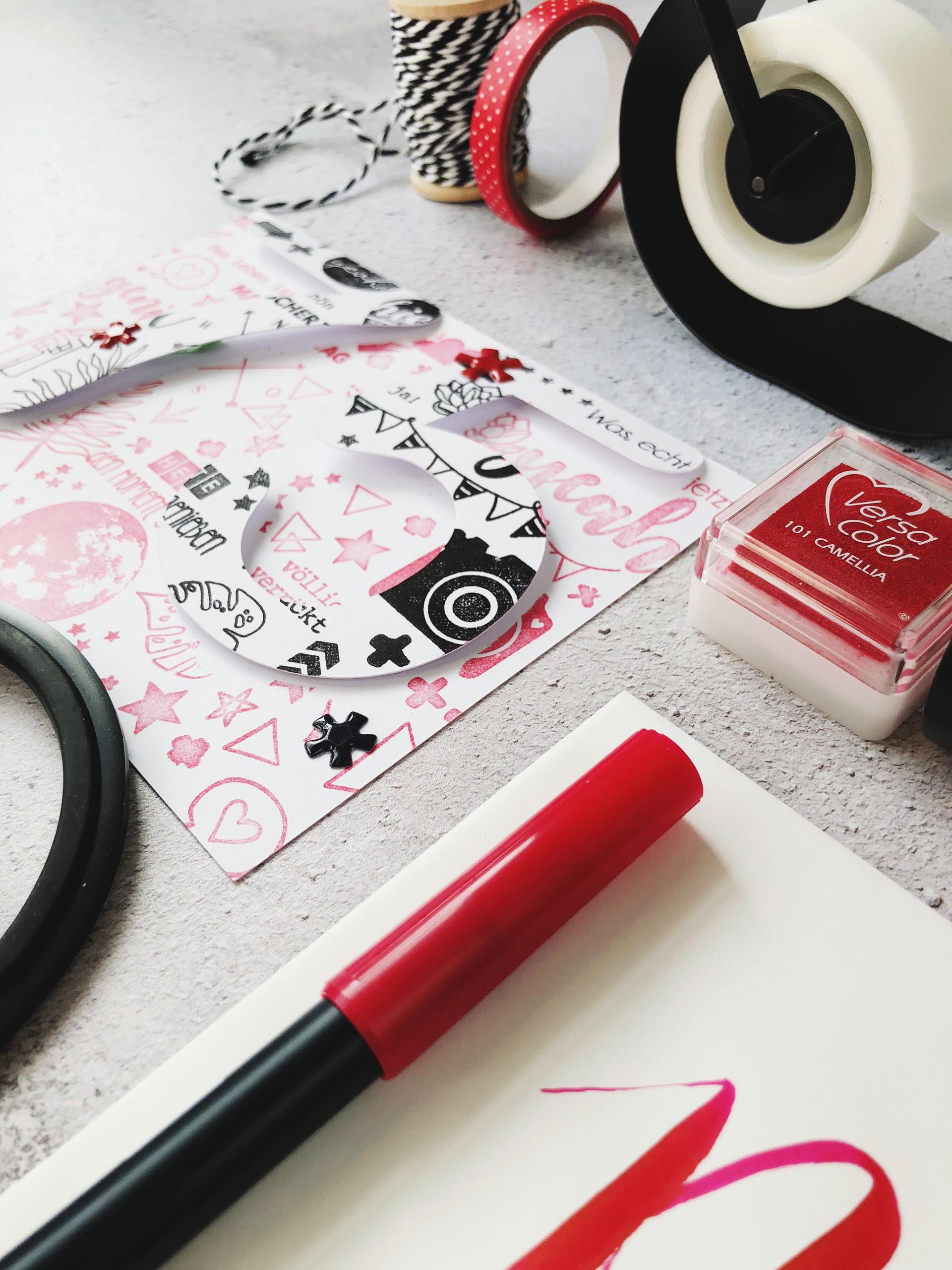 Diy Geburtstagskarte Zum 75 Geburtstag Papierprojekt Blog
